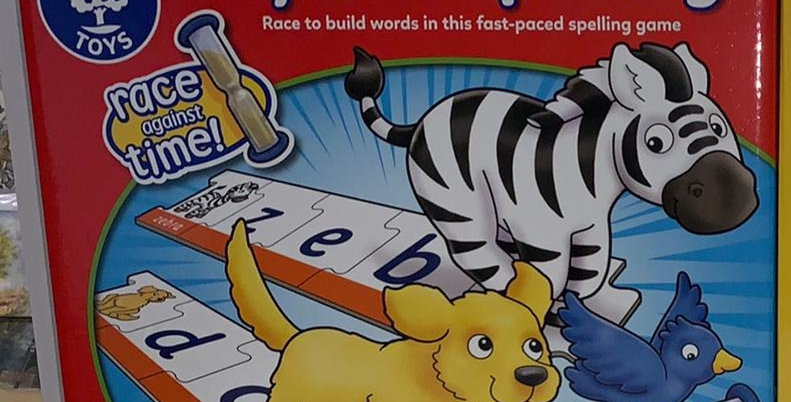 Orchard Toys: Speed Spelling