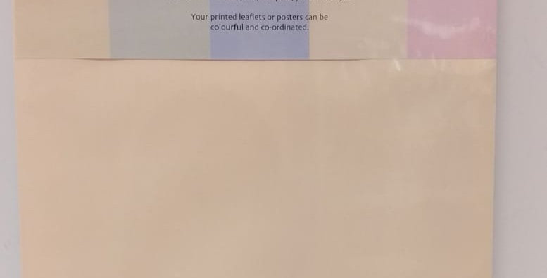 A4 pastel paper 100 sheets