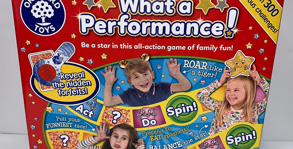 Orchard Toys: What a Performance!