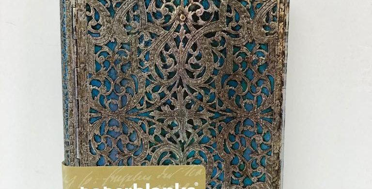 Paperblanks notebook Silver Filigree 14x9.5cm