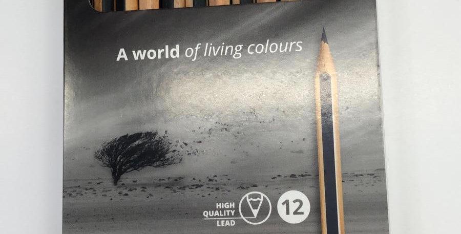 Lyra: Graphite 12 assorted pencils