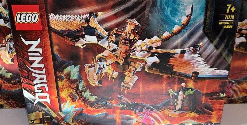 Lego Ninjago: Wu's Battle Dragon