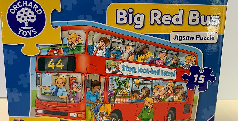 Orchard Toys: Big Red Blue