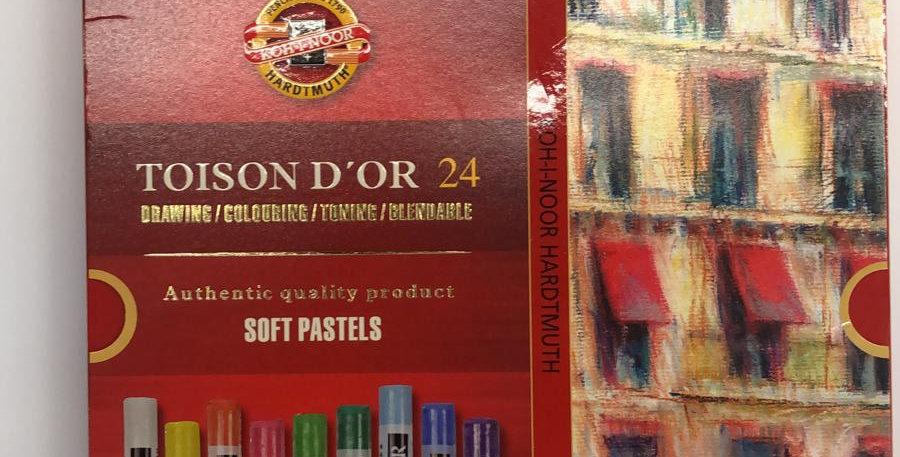 Koh-I-Noor: 24 Soft pastels