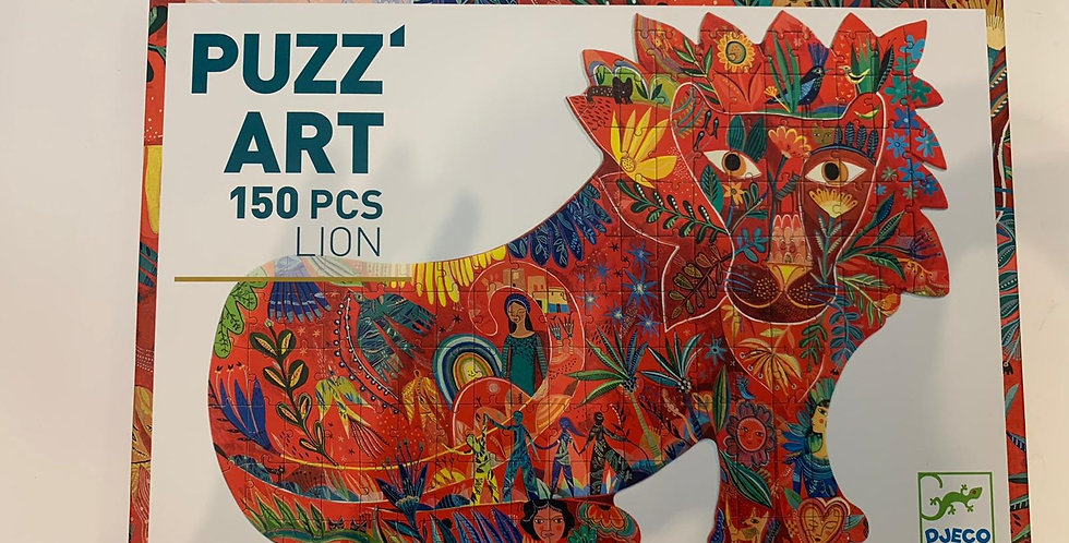 Puzz Art: 150 Piece Lion