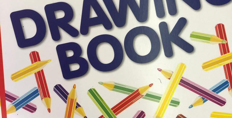 Plain Paper drawing book
