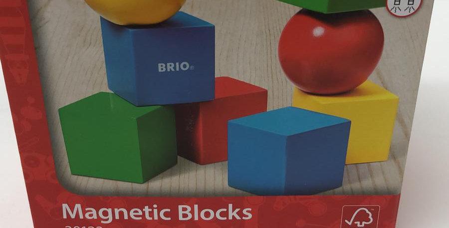 Brio: Magnetic Blocks 12 months