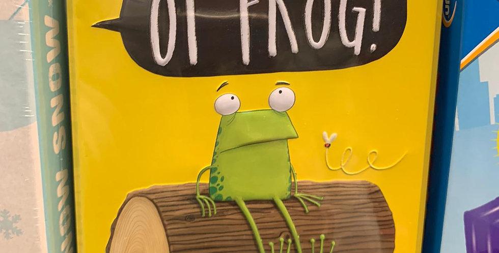 Oi Frog! Memory game
