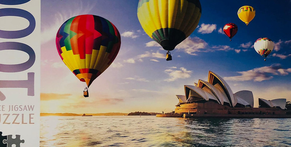 Mindbogglers 1000 piece Sydney Opera House