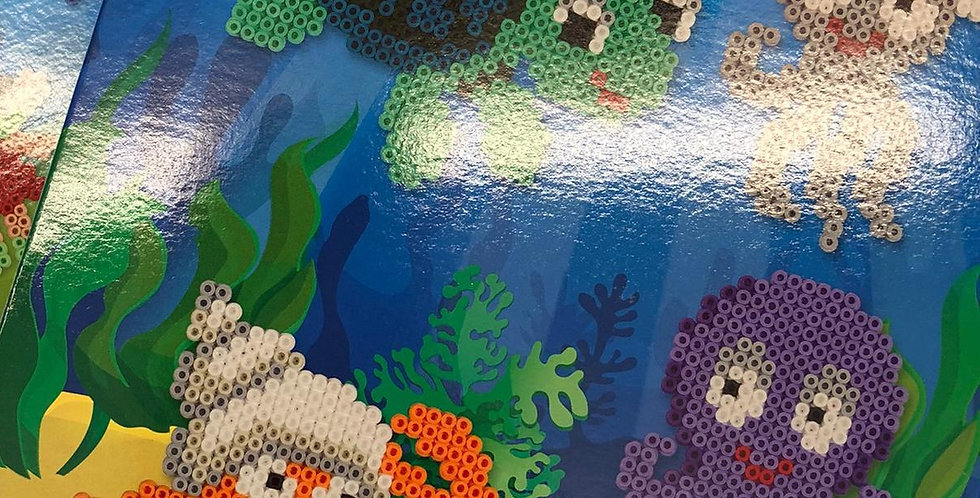Hama beads: Sea Creatures