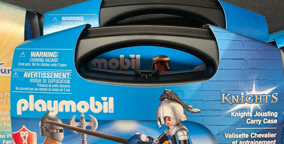 Playmobil: Knights Jousting Carry case