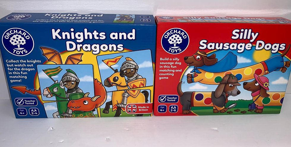 Orchard Toys: Knights and Dragons