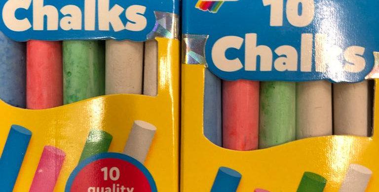 Galt: 10 Chalks