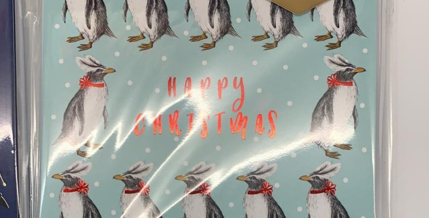 Christmas Penguins Pack of 6 Cards