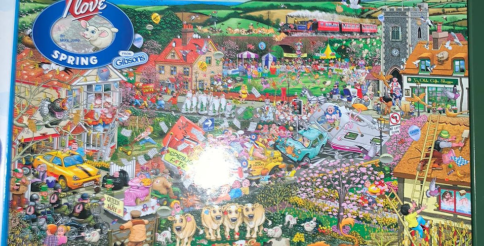Gibsons: I Love Spring 1000 piece