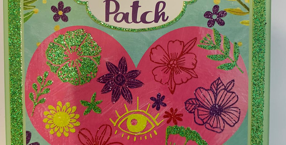 Djeco: Flowers Artistic Patch