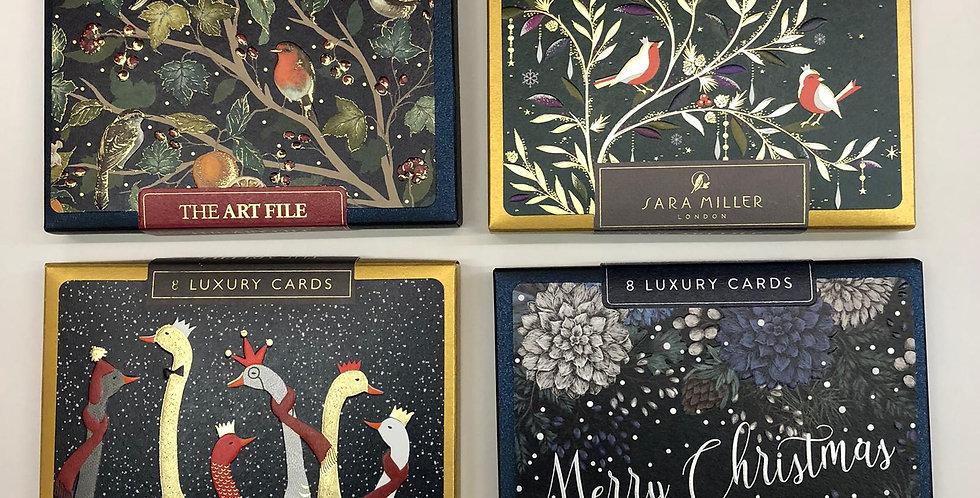 Art File Box of 8 Luxury Cards