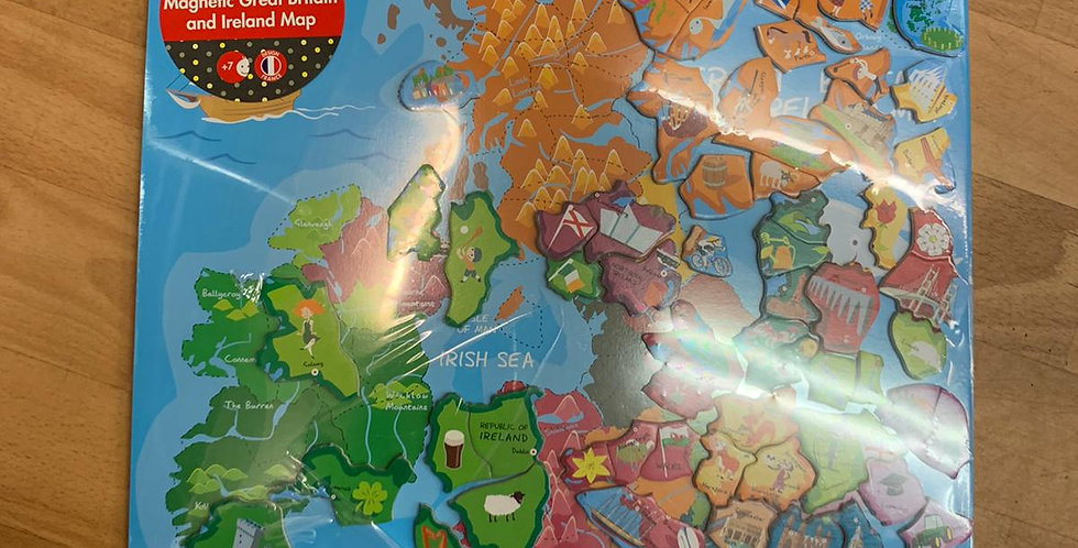 Janod: Magnetic Great Britain and Ireland Map