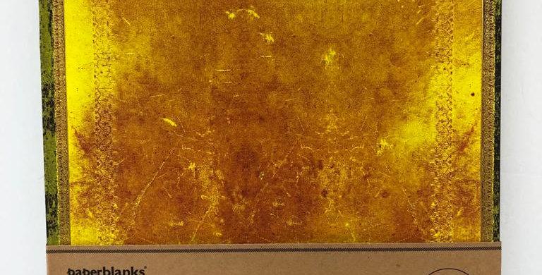 Paperblanks unlined flexli notebook Ochre 23x17.5cm