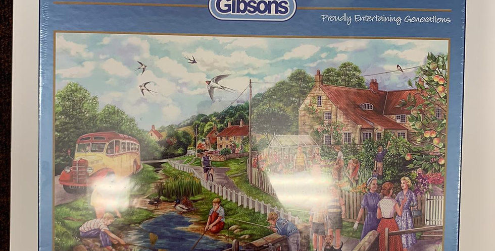 Gibson: Summer By The Stream 1000 piece