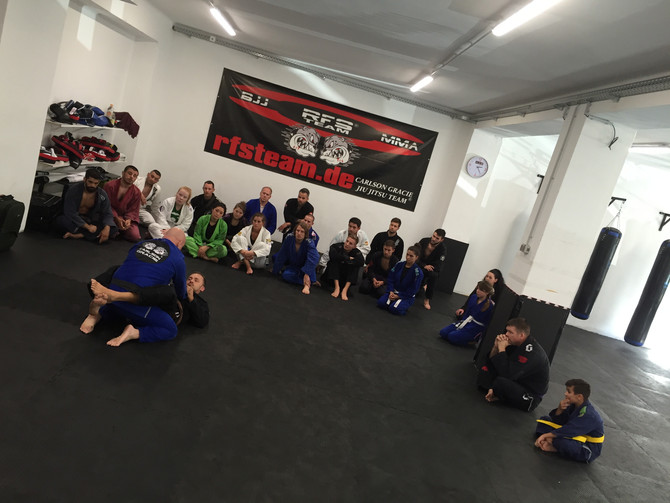 Carlson Gracie Jr-Seminar beim RFS Pro CENTER