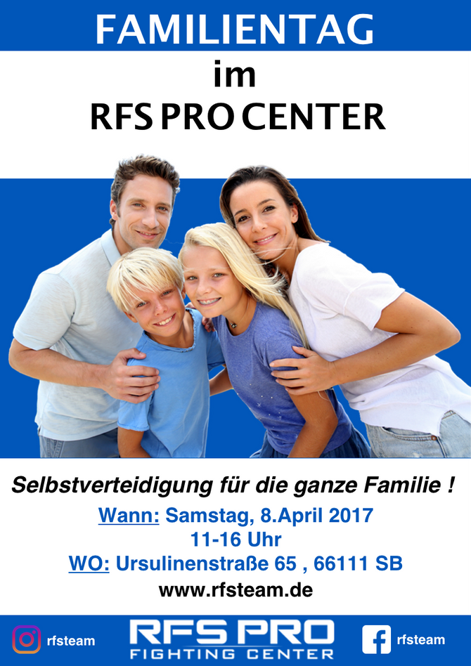 Familientag im RFS Pro Center