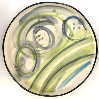 Small abstract plate.