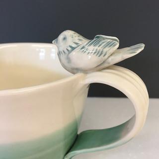 Thrown jug detail