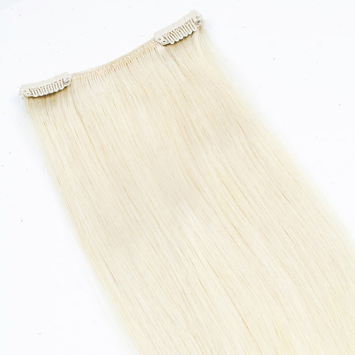 """Keira Human Hair Extensions Bra Length 16"""" 2-clip Ice Blonde L16W4-ICE BLONDE"""
