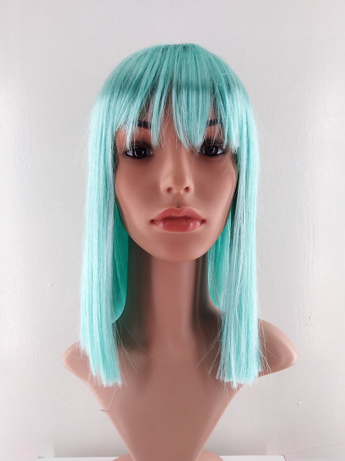 3999 Class B Synthetic Mid Length Wig with Full Bangs