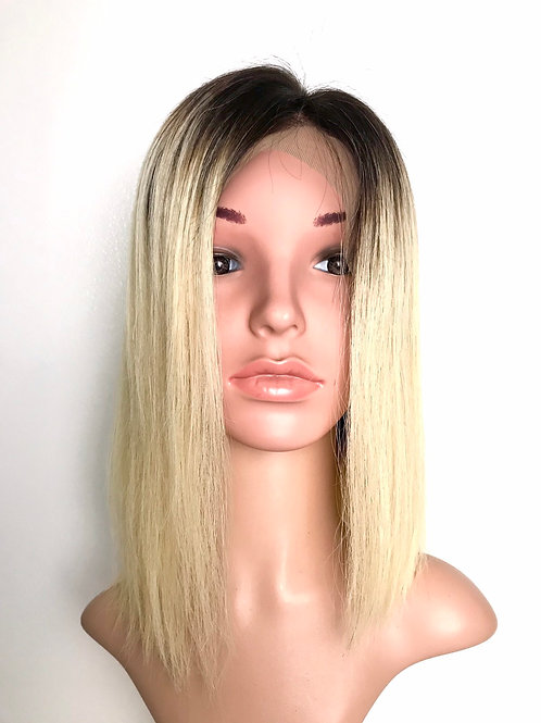 """CHARLIZE - 14"""" Lace Front Human Hair Wig"""