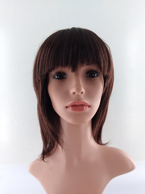 8711 Synthetic Mid Length Wig