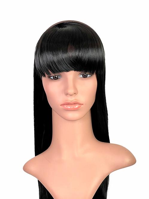 Synthetic Headband Short Full Bangs 118B