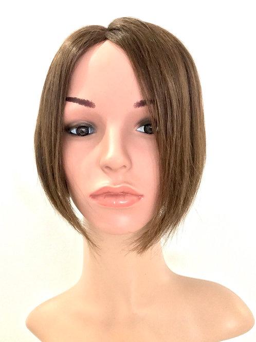 "RITA 8""Wavy Asymetric Bob Monofilamet Wig"