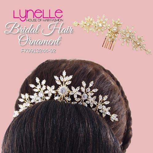 Bridal Hair Ornament GOLD EMPRESS
