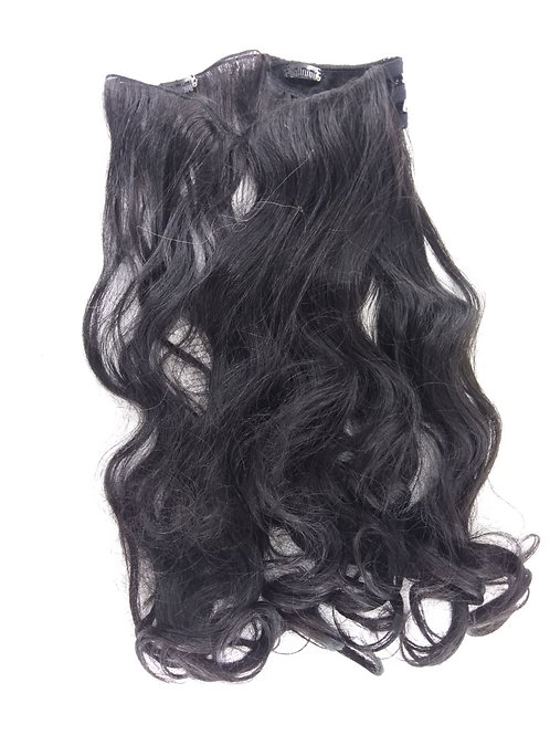 Curly One Piece Synthetic Hair Extensions SK004A