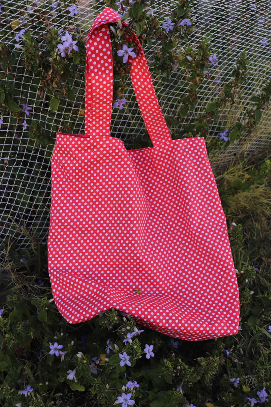 HOW TO SEW A TOTE BAG WITH LINING | SEWING TUTORIAL