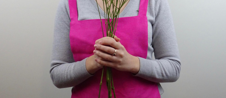 HOW TO SEW AN APRON   DIY   DRAFT YOUR OWN APRON PATTERN