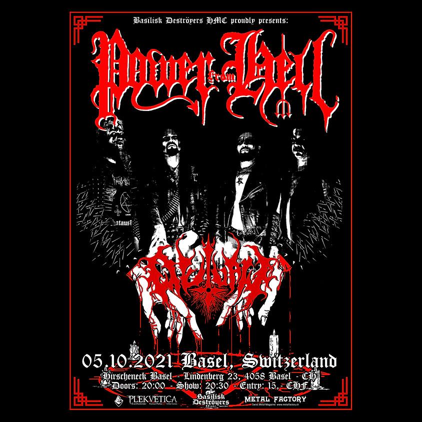 Basilisk Deströyers present: Power from Hell + Outlaw