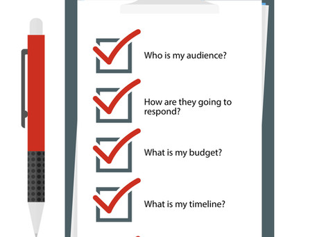 A Communications Checklist (and a few extra thoughts)
