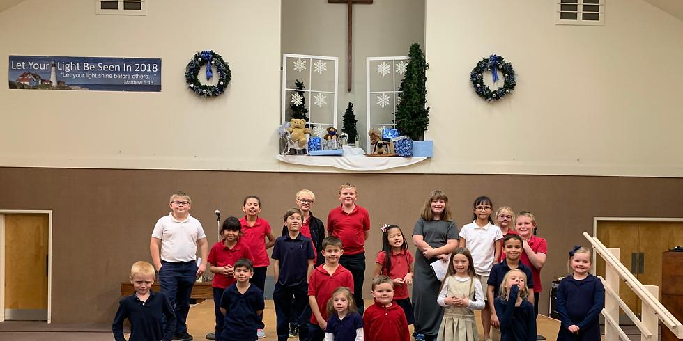 Wilton Christian School Christmas Program