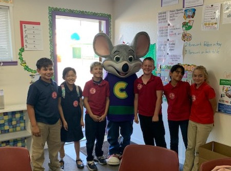 Great Time with Chuck E. Cheese