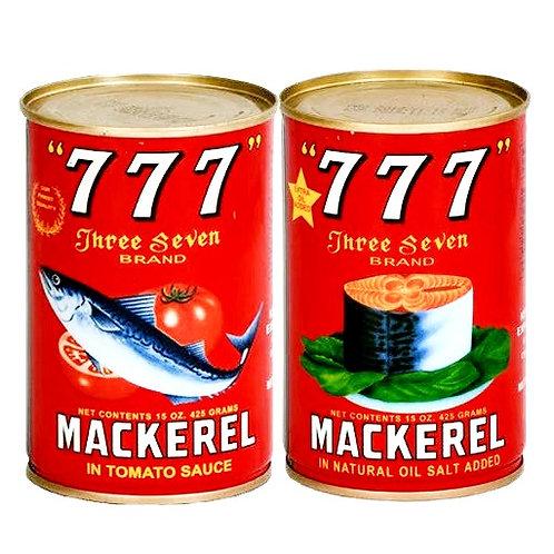 777 Tinned Fish, Tomato sauce, 425g