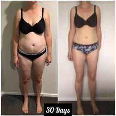 30 Day Program Results