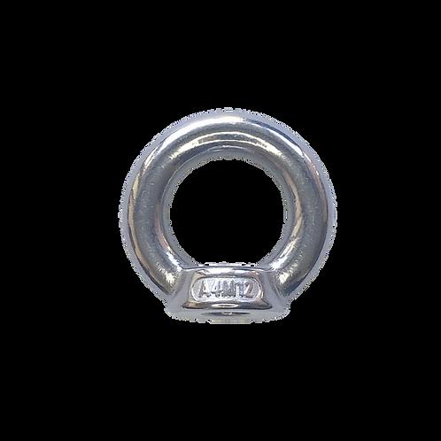Ringmutter aus Edelstahl M12 für Gewindestab