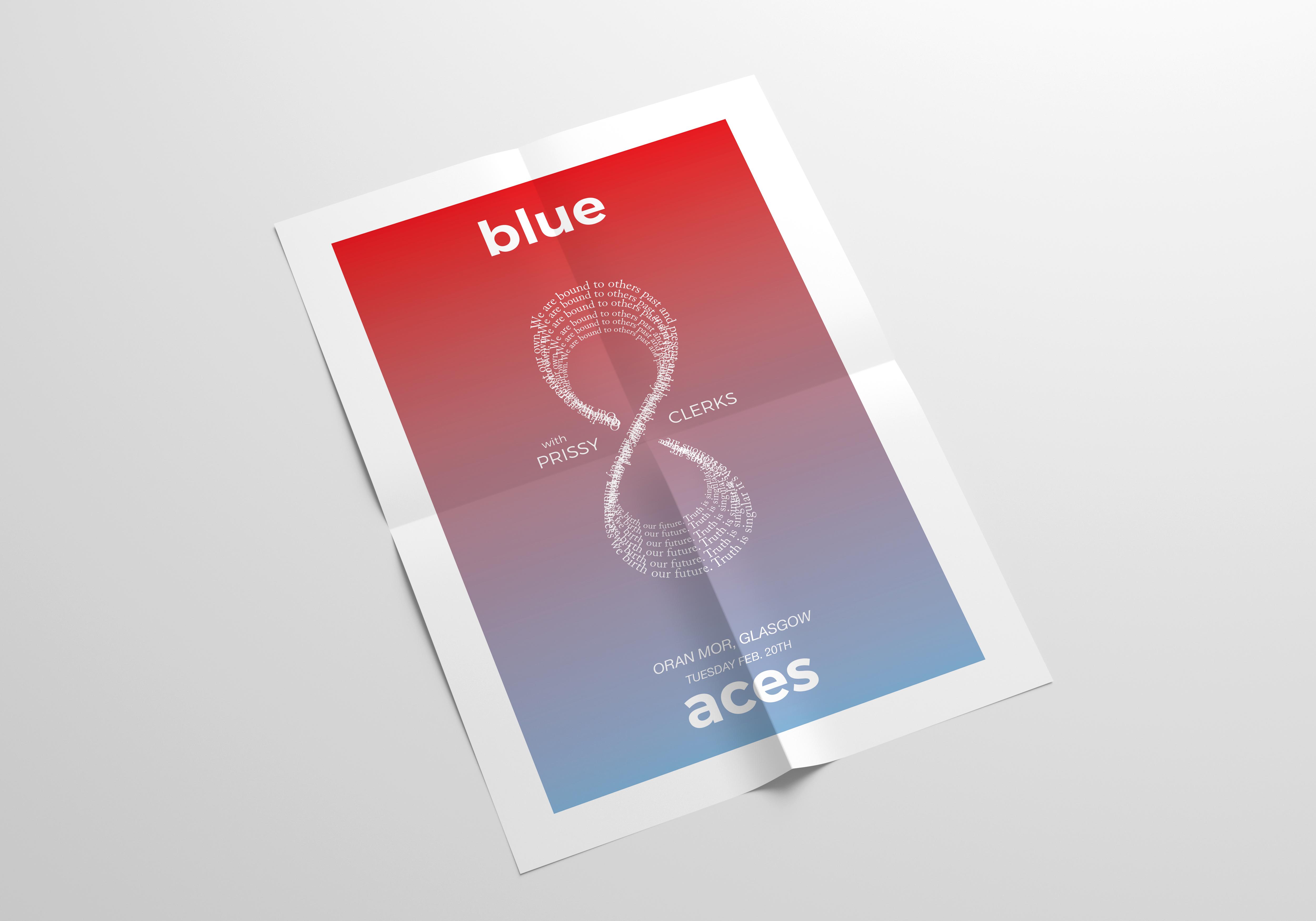 blue aces mock up