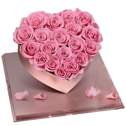 Mademoiselle  Preserved eternal Real Roses