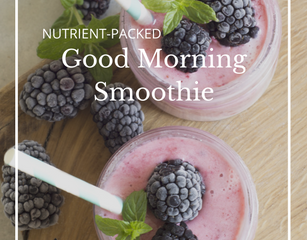 Recipe: Nutrient-Packed Good Morning Smoothie