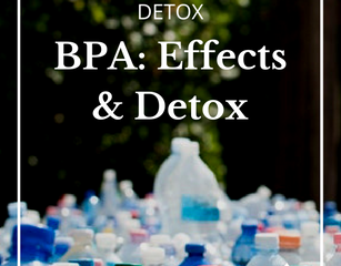 Sources of BPA and New Research on Detox