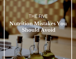 5 Nutrition Mistakes You Should Avoid (You're Probably Making One!)